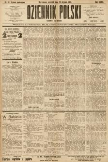 Dziennik Polski (wydanie popołudniowe). 1903, nr47