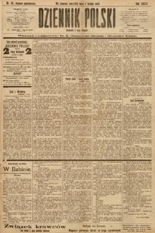 Dziennik Polski (wydanie popołudniowe). 1903, nr58