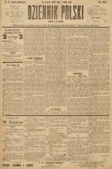 Dziennik Polski (wydanie popołudniowe). 1903, nr62