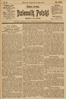 Dziennik Polski (wydanie poranne). 1903, nr83