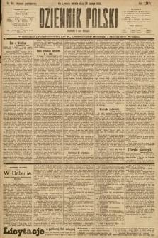 Dziennik Polski (wydanie popołudniowe). 1903, nr98