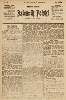 Dziennik Polski (wydanie poranne). 1903, nr135