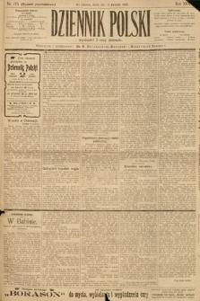 Dziennik Polski (wydanie popołudniowe). 1903, nr173