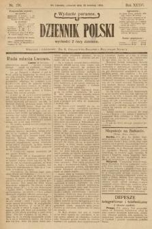 Dziennik Polski (wydanie poranne). 1903, nr176