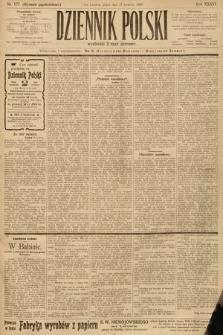 Dziennik Polski (wydanie popołudniowe). 1903, nr177