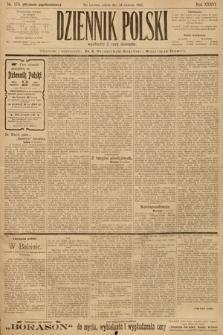 Dziennik Polski (wydanie popołudniowe). 1903, nr179