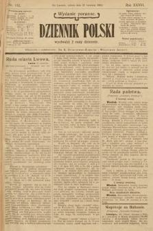 Dziennik Polski (wydanie poranne). 1903, nr192