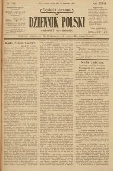 Dziennik Polski (wydanie poranne). 1903, nr198
