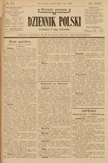 Dziennik Polski (wydanie poranne). 1903, nr212