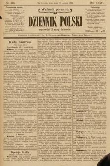 Dziennik Polski (wydanie poranne). 1903, nr278
