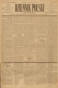 Dziennik Polski (wydanie popołudniowe). 1903, nr281