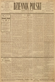 Dziennik Polski (wydanie popołudniowe). 1903, nr291