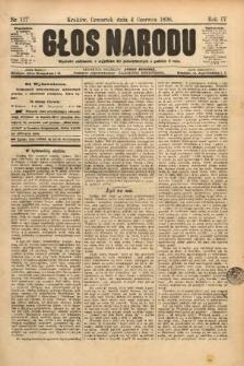 Głos Narodu. 1896, nr127