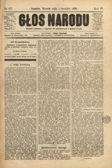 Głos Narodu. 1896, nr277