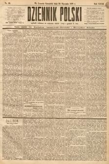 Dziennik Polski. 1898, nr20