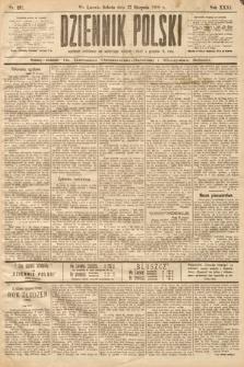 Dziennik Polski. 1898, nr237