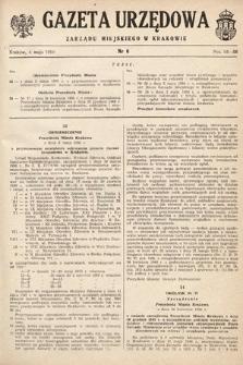 Gazeta Urzędowa Zarządu Miejskiego w Krakowie. 1950, nr6