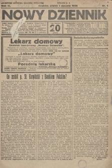 Nowy Dziennik. 1926, nr1