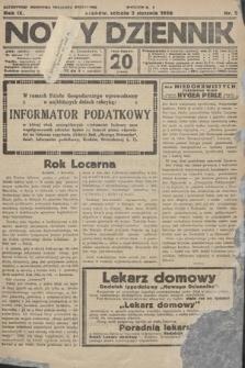 Nowy Dziennik. 1926, nr2