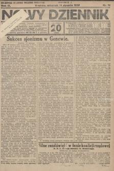 Nowy Dziennik. 1926, nr10