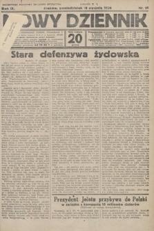 Nowy Dziennik. 1926, nr14