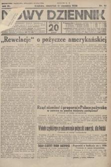 Nowy Dziennik. 1926, nr16
