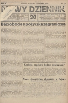 Nowy Dziennik. 1926, nr19