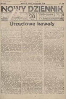 Nowy Dziennik. 1926, nr21