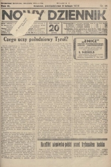 Nowy Dziennik. 1926, nr31