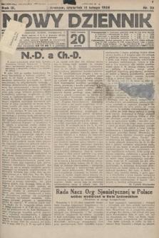 Nowy Dziennik. 1926, nr33