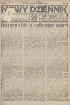 Nowy Dziennik. 1926, nr40