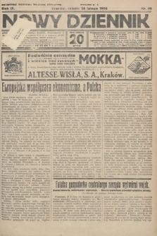 Nowy Dziennik. 1926, nr41