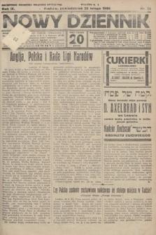 Nowy Dziennik. 1926, nr43