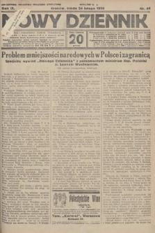 Nowy Dziennik. 1926, nr44