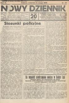 Nowy Dziennik. 1926, nr45