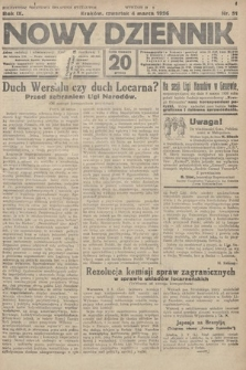 Nowy Dziennik. 1926, nr51