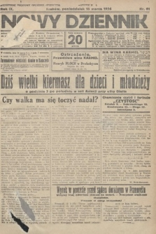 Nowy Dziennik. 1926, nr61
