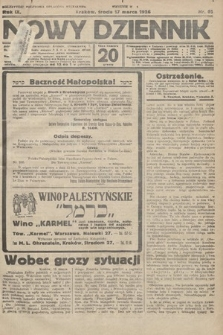 Nowy Dziennik. 1926, nr62