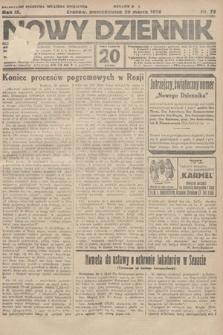 Nowy Dziennik. 1926, nr73