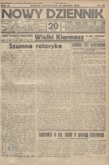 Nowy Dziennik. 1926, nr82