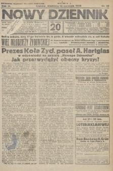 Nowy Dziennik. 1926, nr87