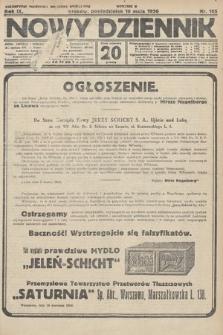 Nowy Dziennik. 1926, nr105