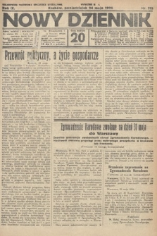 Nowy Dziennik. 1926, nr115