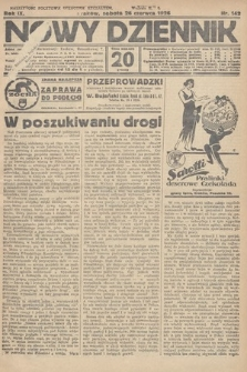 Nowy Dziennik. 1926, nr142