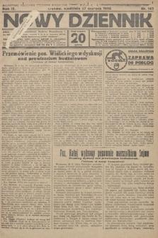Nowy Dziennik. 1926, nr143