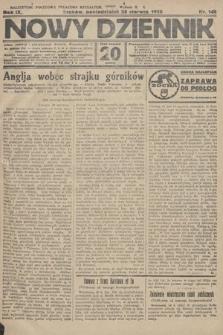 Nowy Dziennik. 1926, nr144
