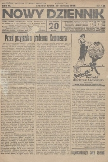 Nowy Dziennik. 1926, nr145