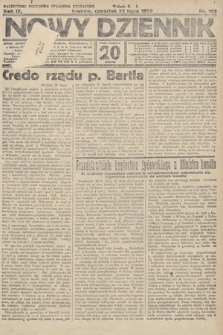 Nowy Dziennik. 1926, nr163