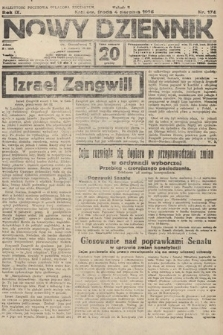Nowy Dziennik. 1926, nr174