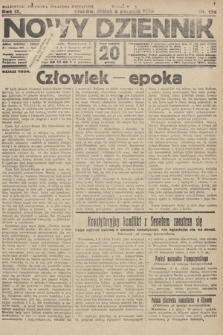Nowy Dziennik. 1926, nr176